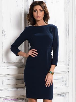 Платье Spicery. Цвет: темно-синий