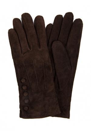 Перчатки Marco Bonne`. Цвет: коричневый