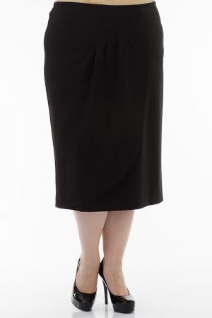 Юбка EVA Collection. Цвет: черный