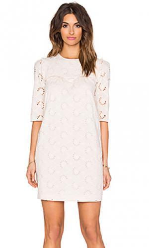 Платье Hoss Intropia. Цвет: румянец