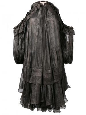 Платье Kali Maria Lucia Hohan. Цвет: серый