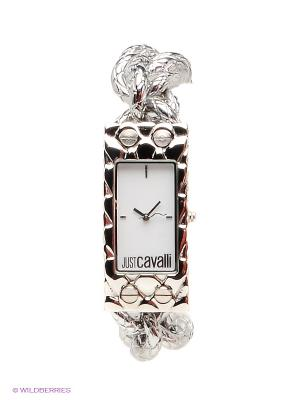 Часы Just Cavalli. Цвет: серебристый