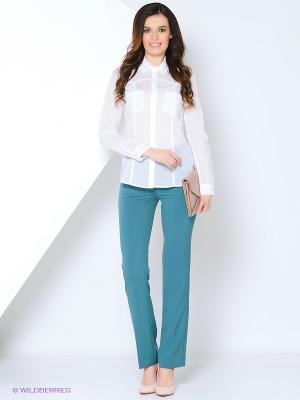Блузка Femme. Цвет: белый