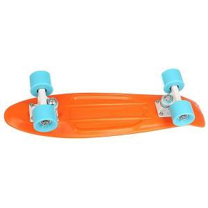 Скейт мини круизер  Original 22 Phoenix 5.75 x (55.9 см) Penny. Цвет: голубой,оранжевый