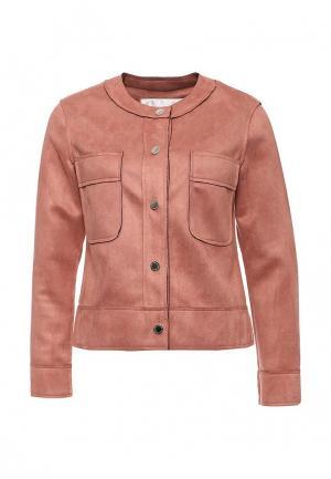 Куртка Tutto Bene. Цвет: розовый
