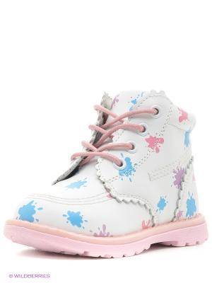 Ботинки Mursu. Цвет: белый