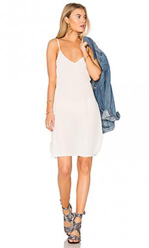 Платье-майка Lisakai. Цвет: белый