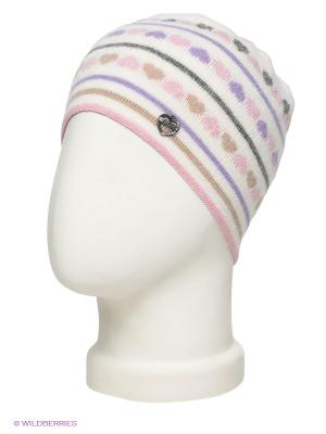 Шапка ELFE. Цвет: белый, серый, сиреневый, бежевый, бледно-розовый