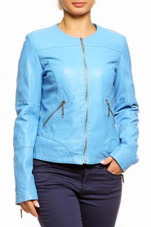 Куртка LEIDIRO. Цвет: голубой