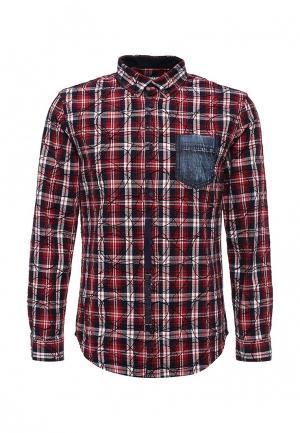 Рубашка Desigual. Цвет: красный