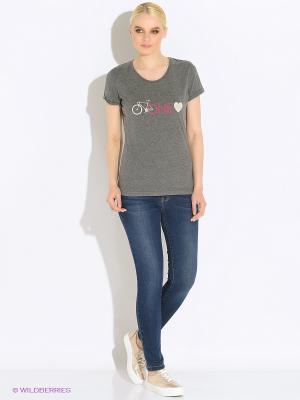 Футболка One Love T-Shirt DARE 2B. Цвет: серый, серый меланж