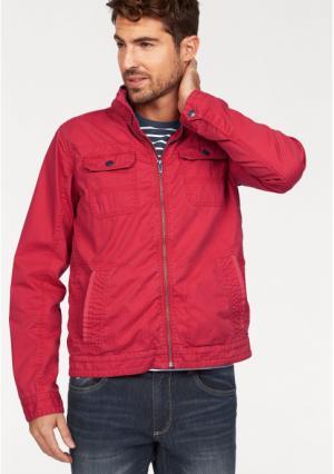 Куртка Rhode Island. Цвет: светло-красный, синий