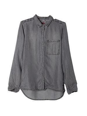 Блузка S.OLIVER. Цвет: серый, бронзовый