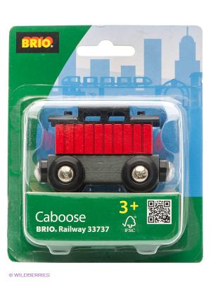 Тормозной вагон поезда BRIO. Цвет: прозрачный