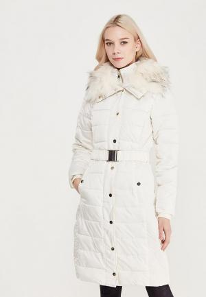 Куртка утепленная Miss Selfridge. Цвет: белый