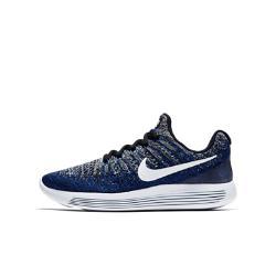 Беговые кроссовки для школьников  LunarEpic Low Flyknit 2 Nike. Цвет: черный