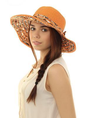 Шляпа Migura. Цвет: оранжевый
