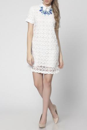 Платье EUFORIA. Цвет: белый