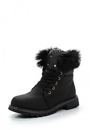 Ботинки Ideal. Цвет: черный
