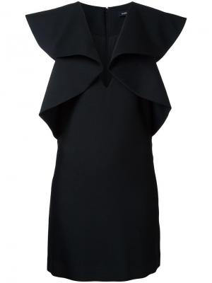 Платье-кейп Goen.J. Цвет: чёрный