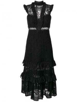 Boulevard lace dress Three Floor. Цвет: чёрный
