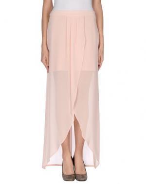 Длинная юбка H²O LUXURY. Цвет: розовый