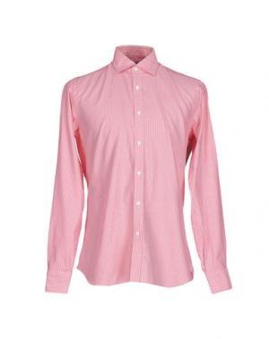 Pубашка DANDYLIFE BY BARBA. Цвет: коралловый