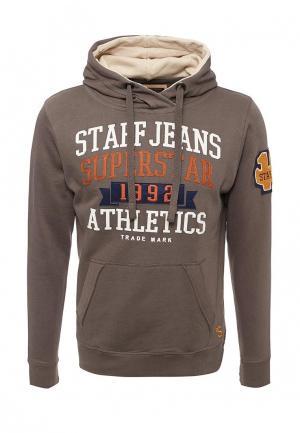 Худи Staff Jeans & Co.. Цвет: коричневый
