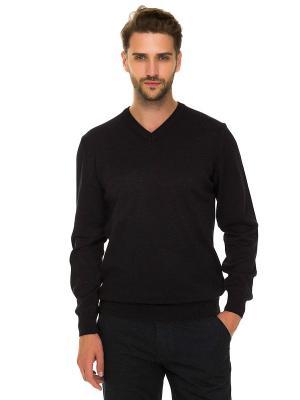 Пуловер Westrenger. Цвет: черный