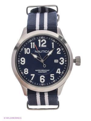 Часы Nautica. Цвет: серебристый
