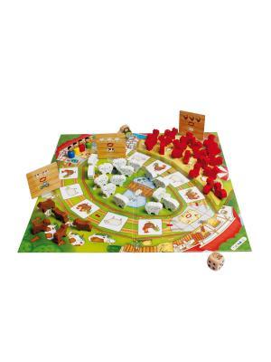 Развивающая игра Веселая ферма 2 Beleduc. Цвет: светло-голубой
