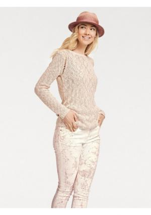 Пуловер B.C. BEST CONNECTIONS by Heine. Цвет: нежно-розовый