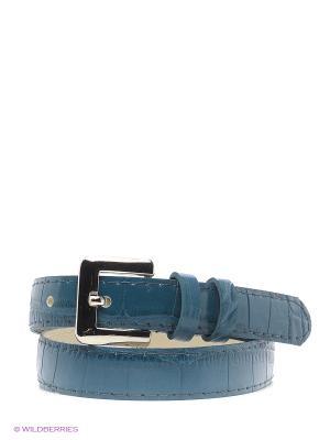 Ремень Vittorio Richi. Цвет: синий