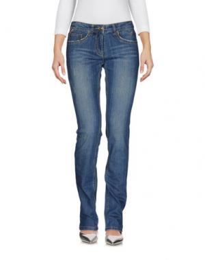 Джинсовые брюки PIERO GUIDI. Цвет: синий
