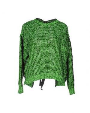 Свитер AKEP. Цвет: зеленый