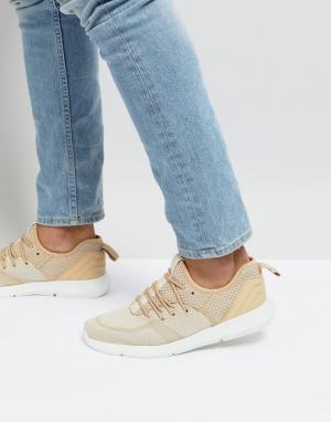 New Look Бежевые кроссовки. Цвет: светло-бежевый
