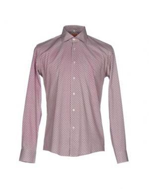 Pубашка GABARDINE. Цвет: фиолетовый