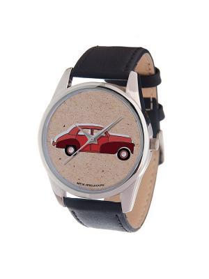 Часы Mitya Veselkov Красная машинка Арт. MV-158. Цвет: красный