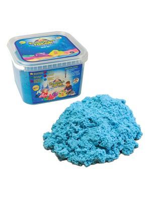 Космический песок Голубой 3 кг. Цвет: голубой