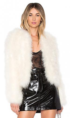 Куртка deora LAMARQUE. Цвет: белый