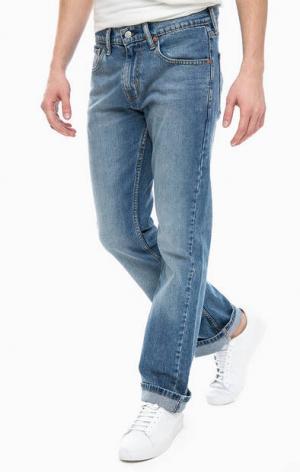 Расклешенные джинсы 527™ Slim Bootcut Levi's®. Цвет: синий