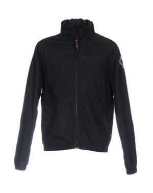 Куртка BSBEE. Цвет: черный