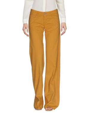 Повседневные брюки GOLD CASE. Цвет: верблюжий