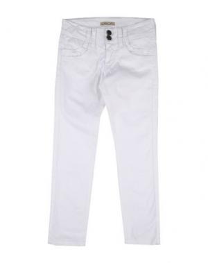Повседневные брюки MIMISOL. Цвет: белый