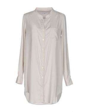 Pубашка AMINA RUBINACCI. Цвет: светло-серый