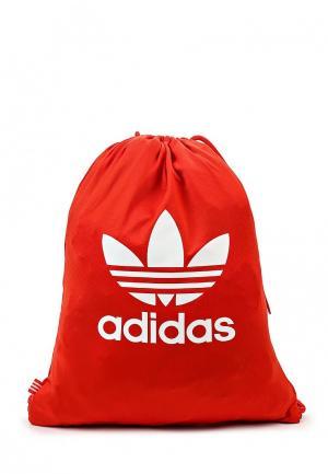 Мешок adidas Originals. Цвет: красный