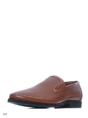 Туфли THOMAS MUNZ. Цвет: коричневый