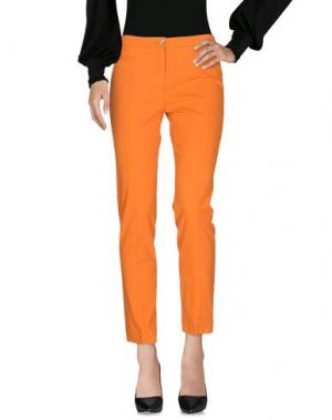 Повседневные брюки G.T.A. MANIFATTURA PANTALONI. Цвет: оранжевый