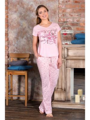 Пижамы Santi. Цвет: розовый
