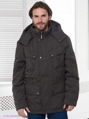 Куртка TOM FARR. Цвет: темно-серый, зеленый